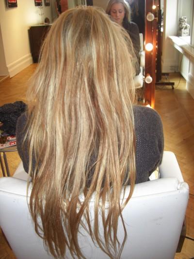 mitt hår före