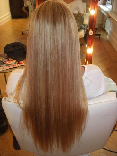 mått hår efter