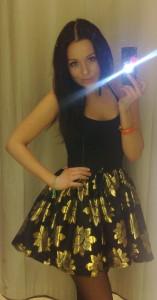 underbar klänning