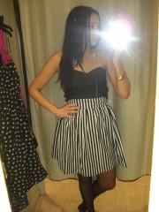 min ena nya klänning