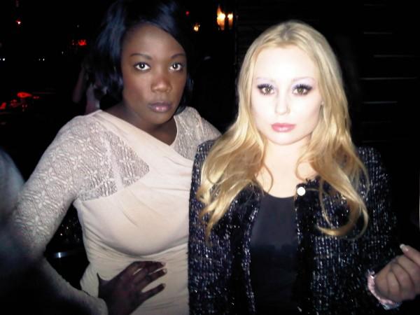 me and angela