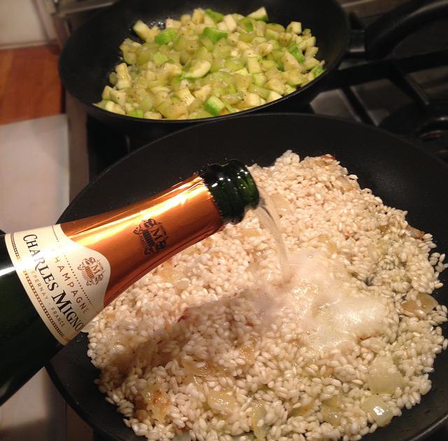 champagne risotto veggie risotto