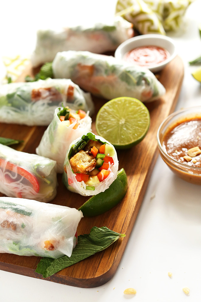 Vietnamese Spring Roll Recipe  How to Wrap Spring Rolls