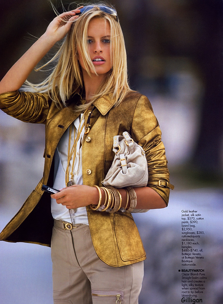 karolina kurkova elle 2005 may victoria secret model