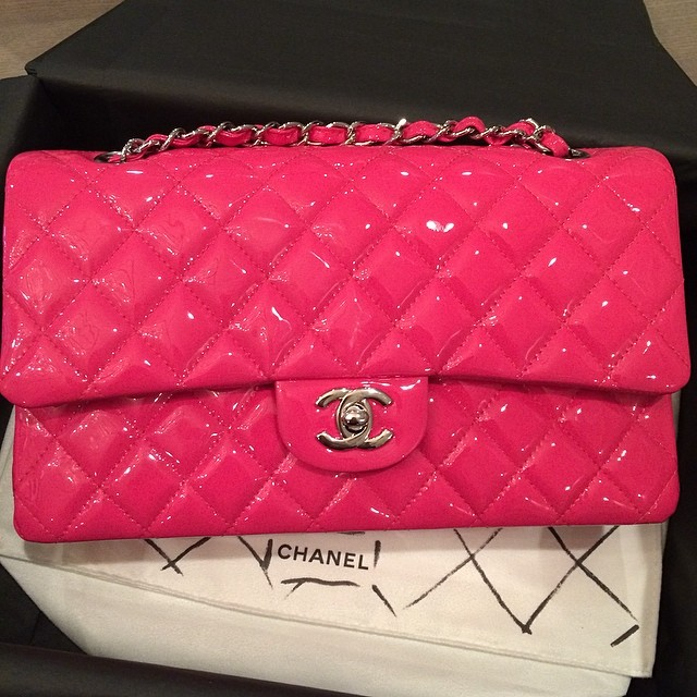 pink chanel handbag boy bag 2.55 chanel classic patent leather