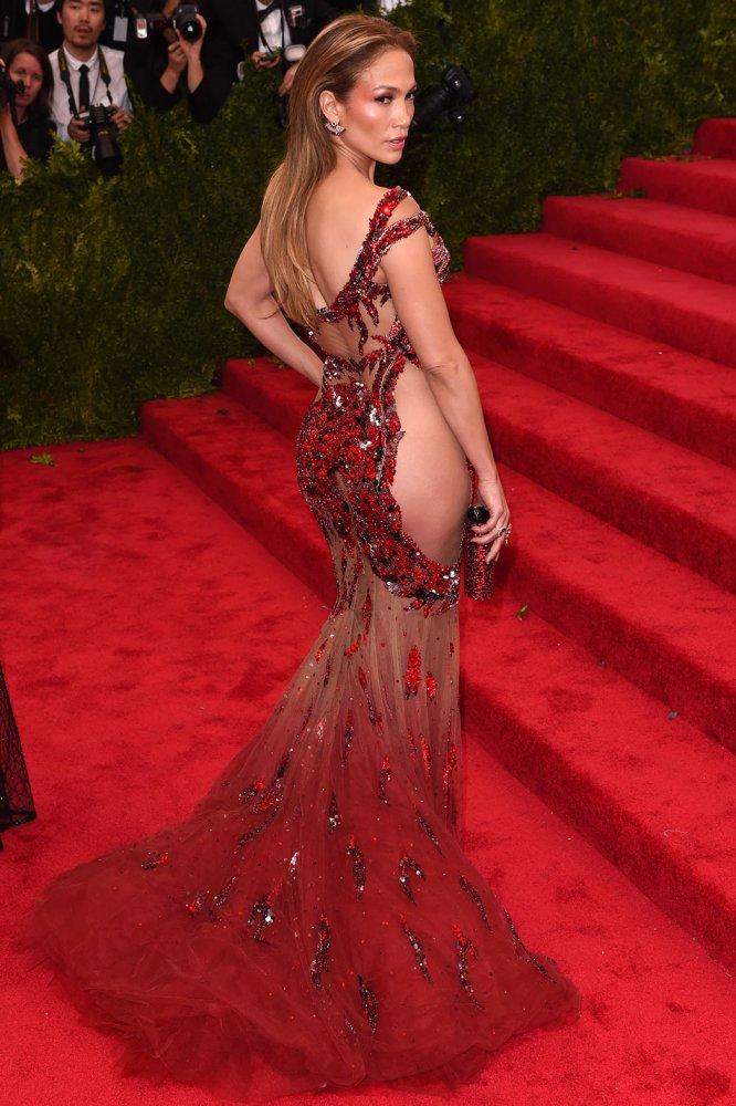 Jennifer Lopez Met Gala gown