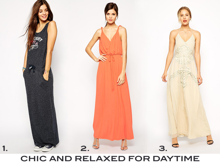 maxi dress for summer ootd