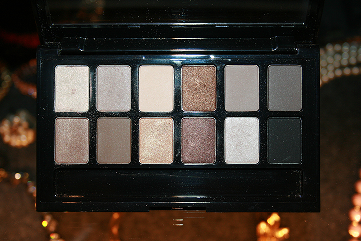maybelline the nudes palette eye shadows