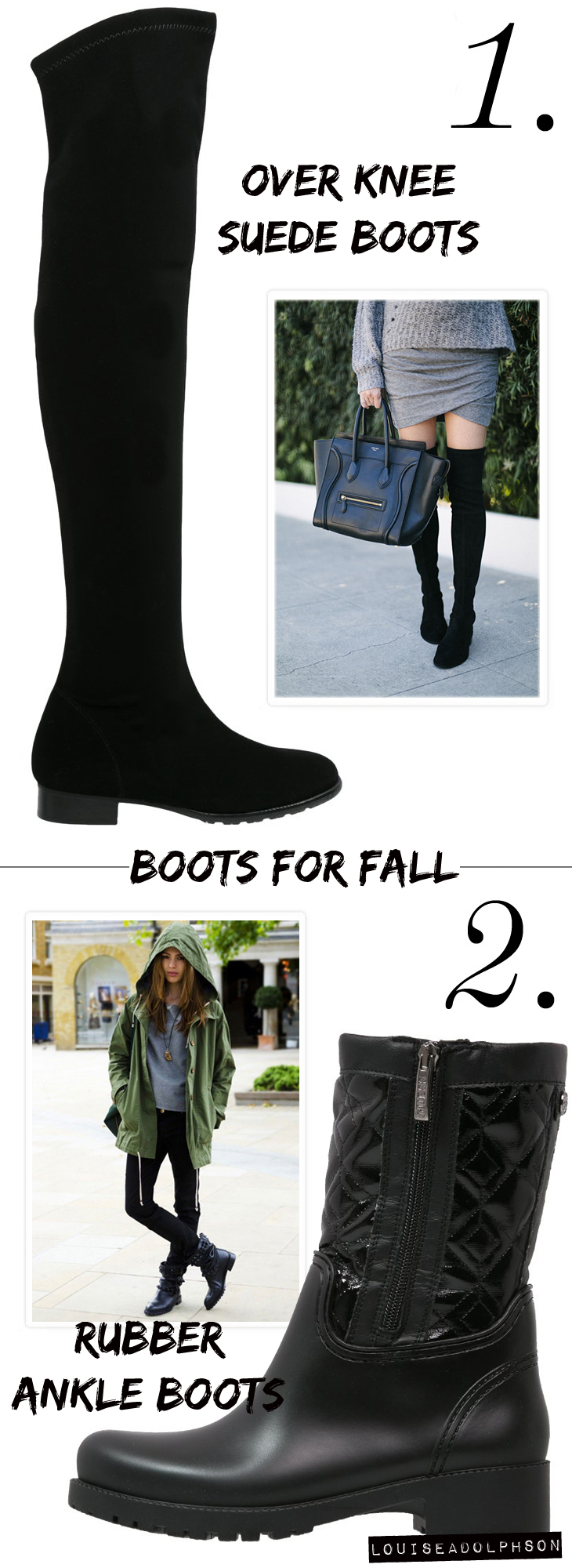 the best boots for fall trends for fall overknee suede boots ankle boots army chic
