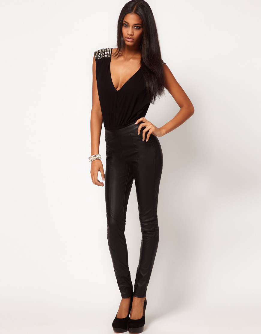 leather pants asos