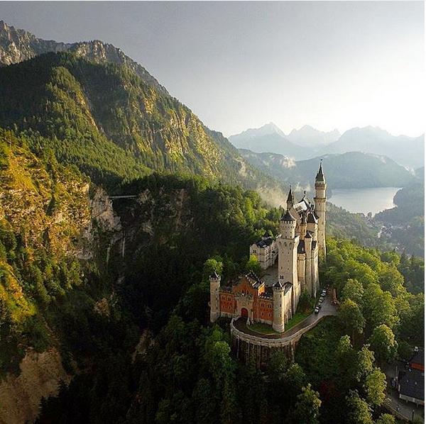 germany castle  travel inspiration exotic holidays