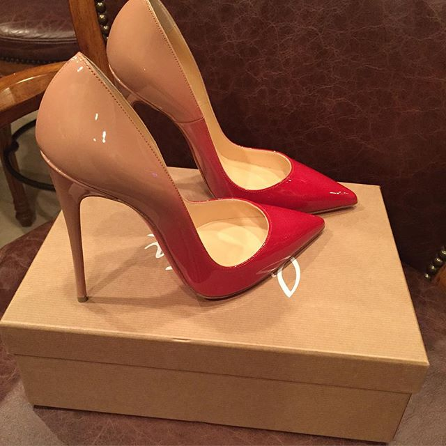 christian louboutin faded pumps