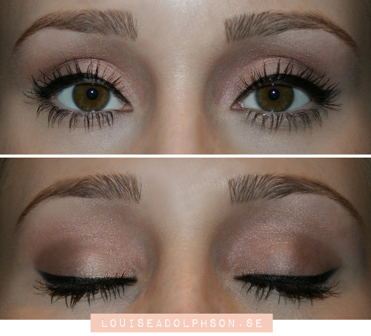 dusty pink tutorial Loreal la nude palette rose review