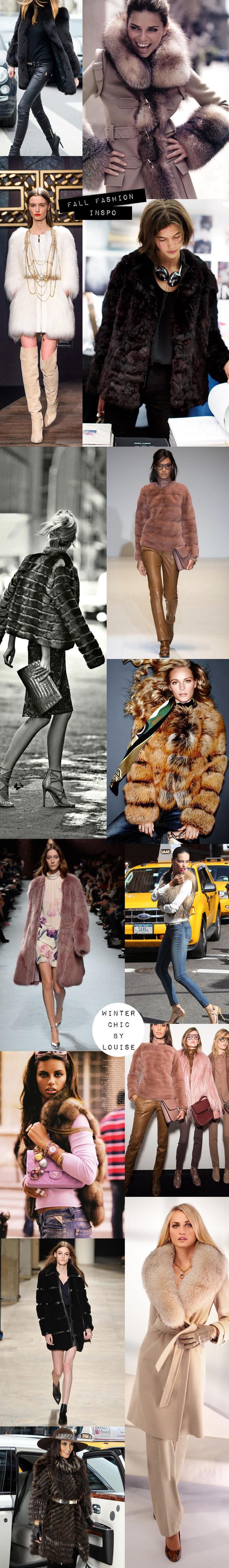 fur season winter chic fall winter 2015 winter clothes trends ideas fake fur real fur fusk päls äkta päls