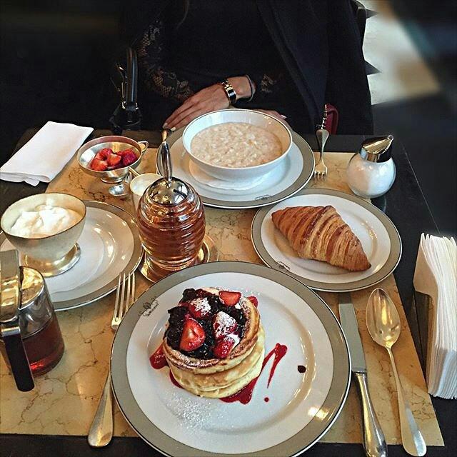 french breakfast paris foodie cravings cakes laduree oatmeal healthy