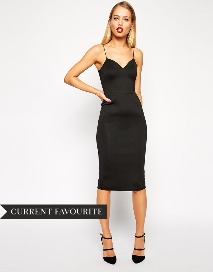 Asos party dress affordable autumn fall dresses inspiration style lbd