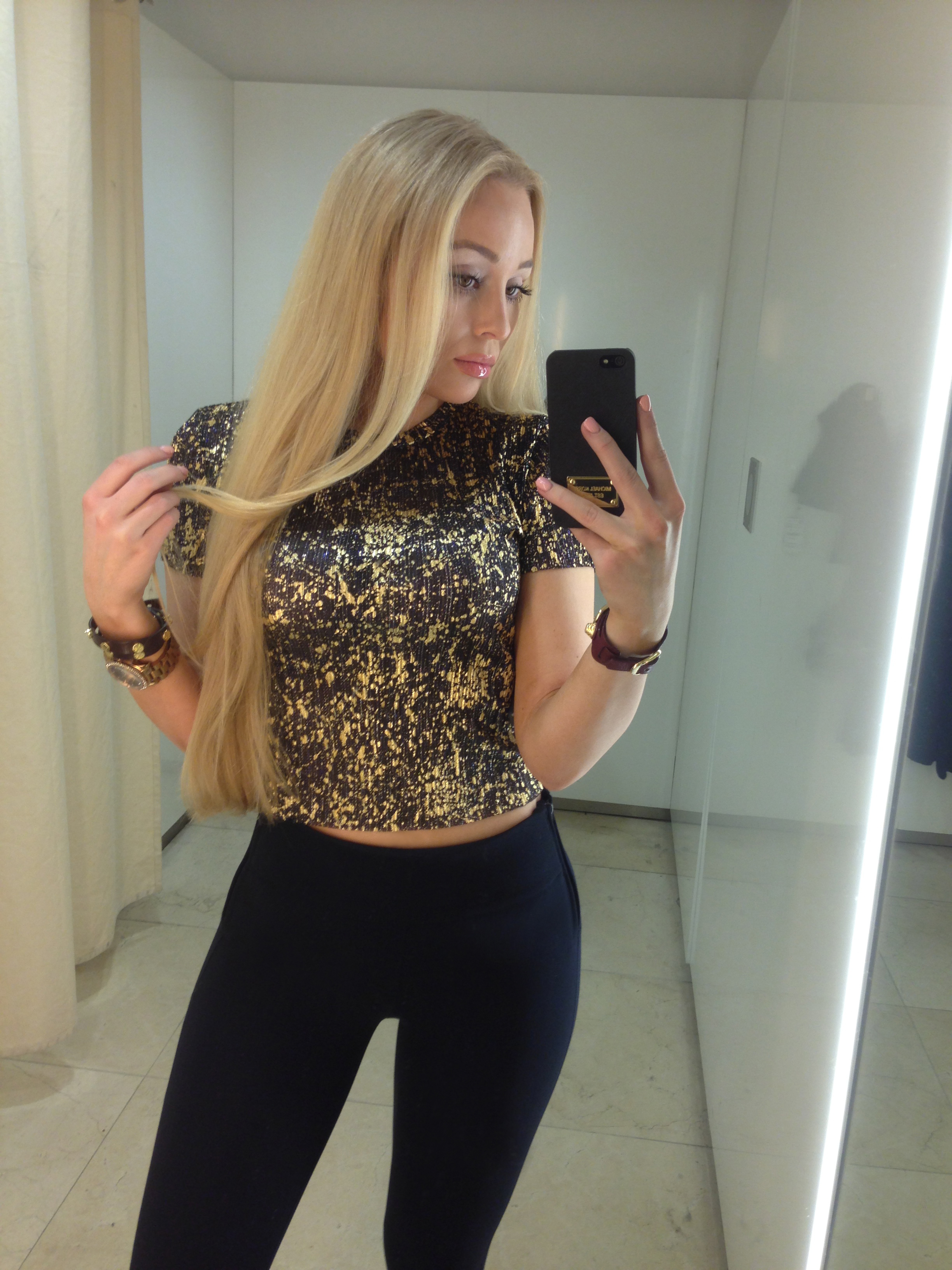 how to style leggings glitter top by zara outfit of the day