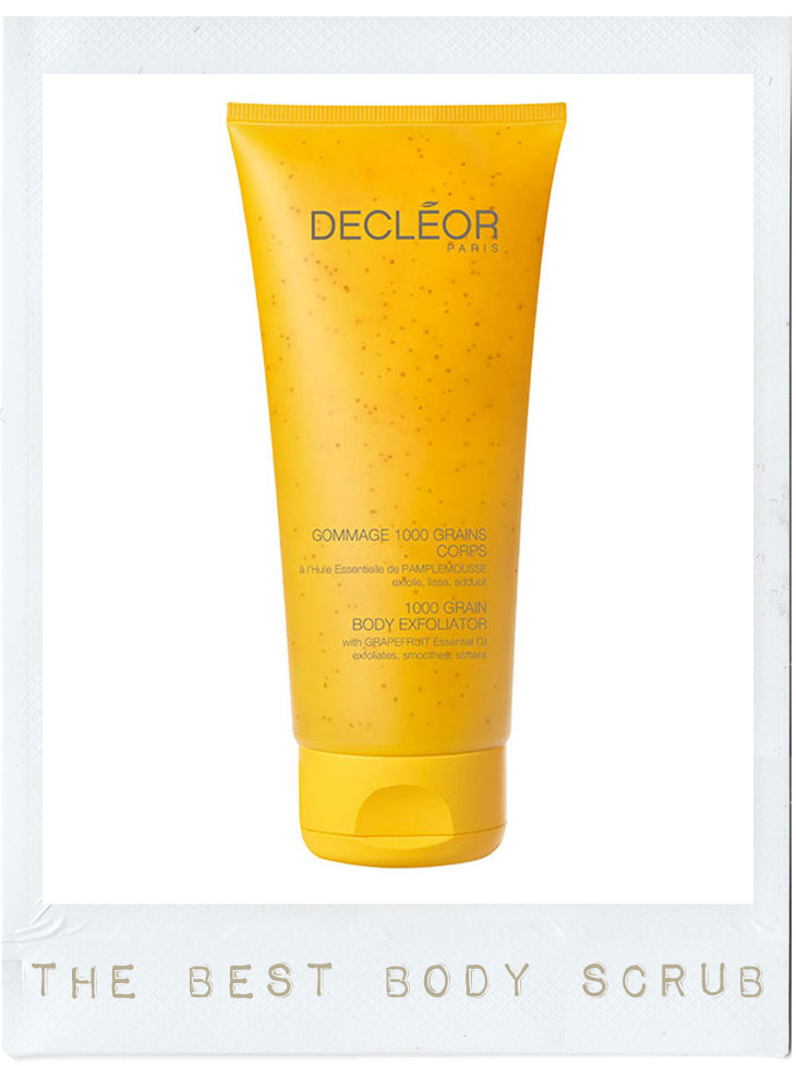 decleor 1000 grains body scrub