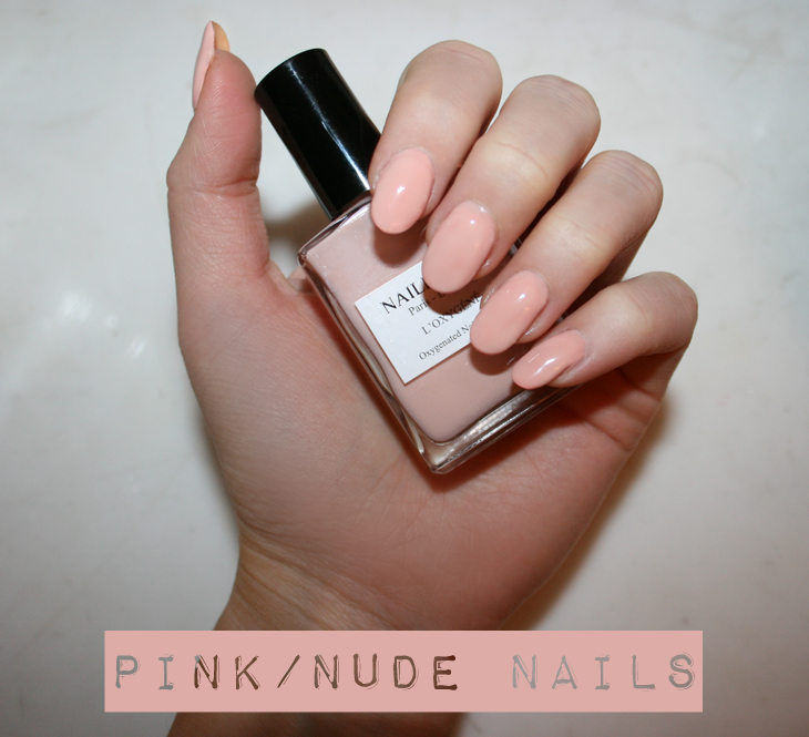 nailberry au naturel nude nails tutorial