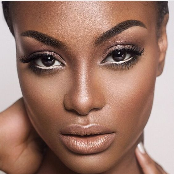 nude lips for darker skin tones