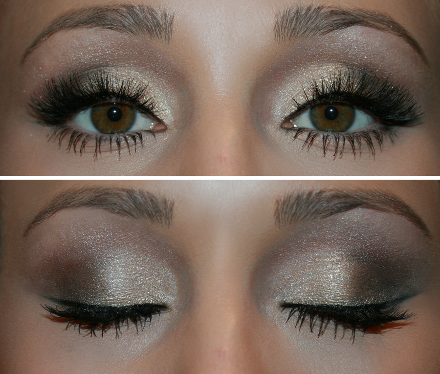 valentines day make up tutorial glam ombre eyes
