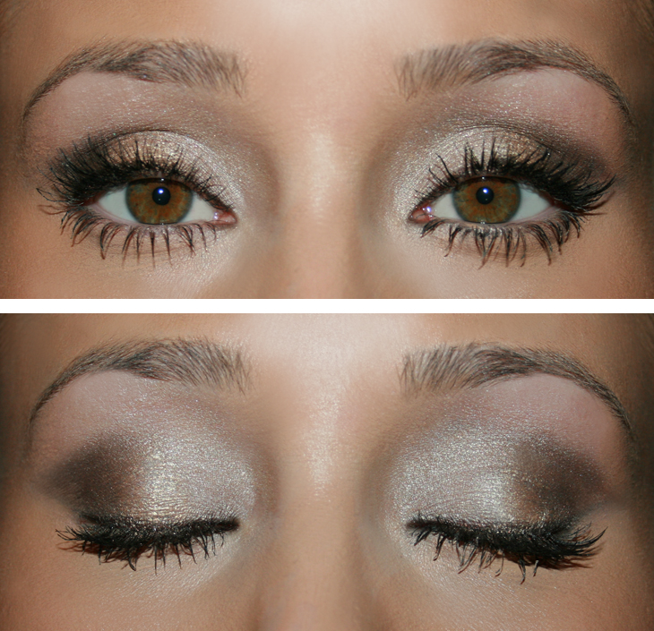 make up tutorial glam ombre eyes