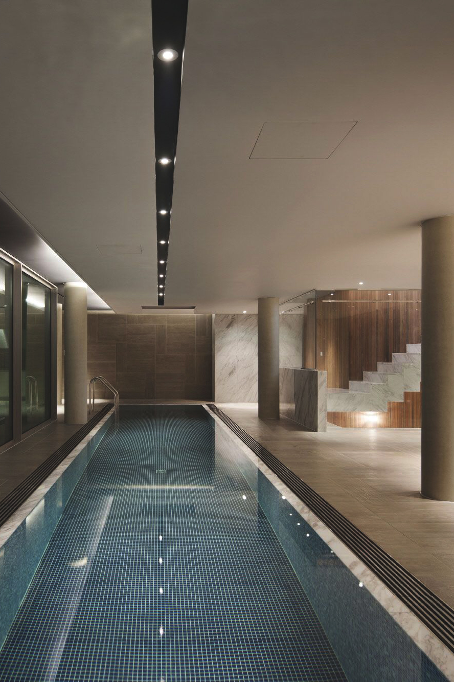 indoor pool dream home interior design inspiration