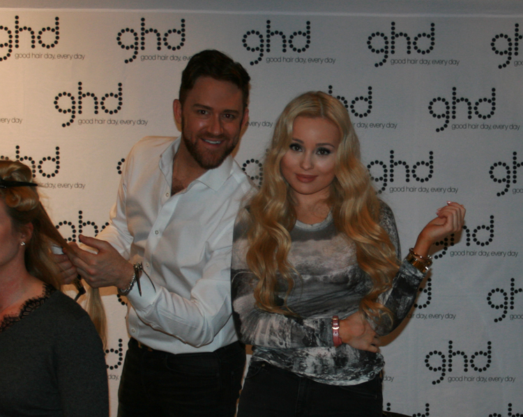 Louise Adolphson Hair Styling GHD Gregory