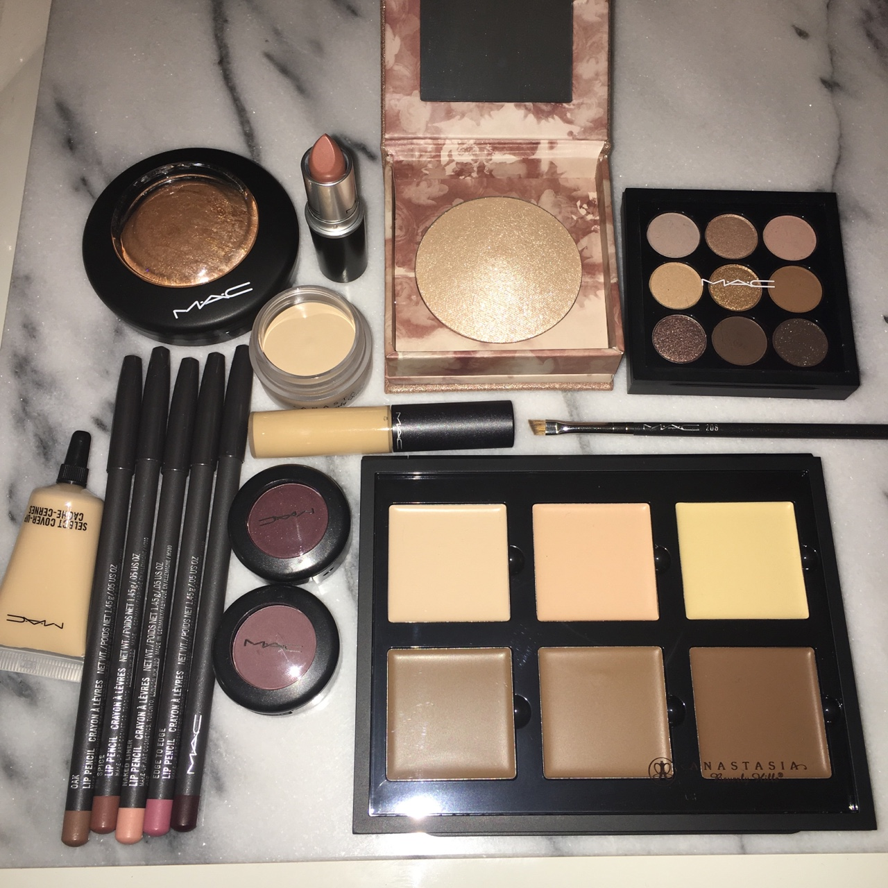 make up perfection anastasia contour palette dip brow
