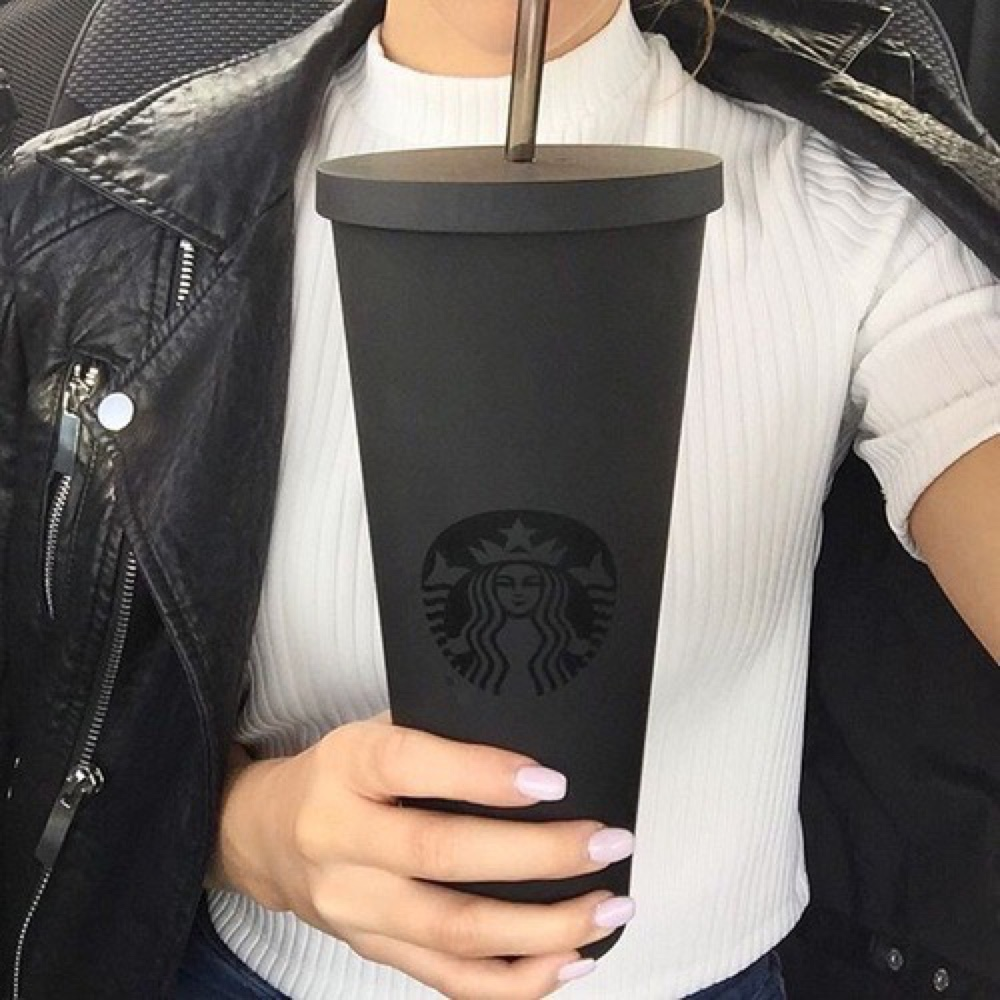 starbucks black mug