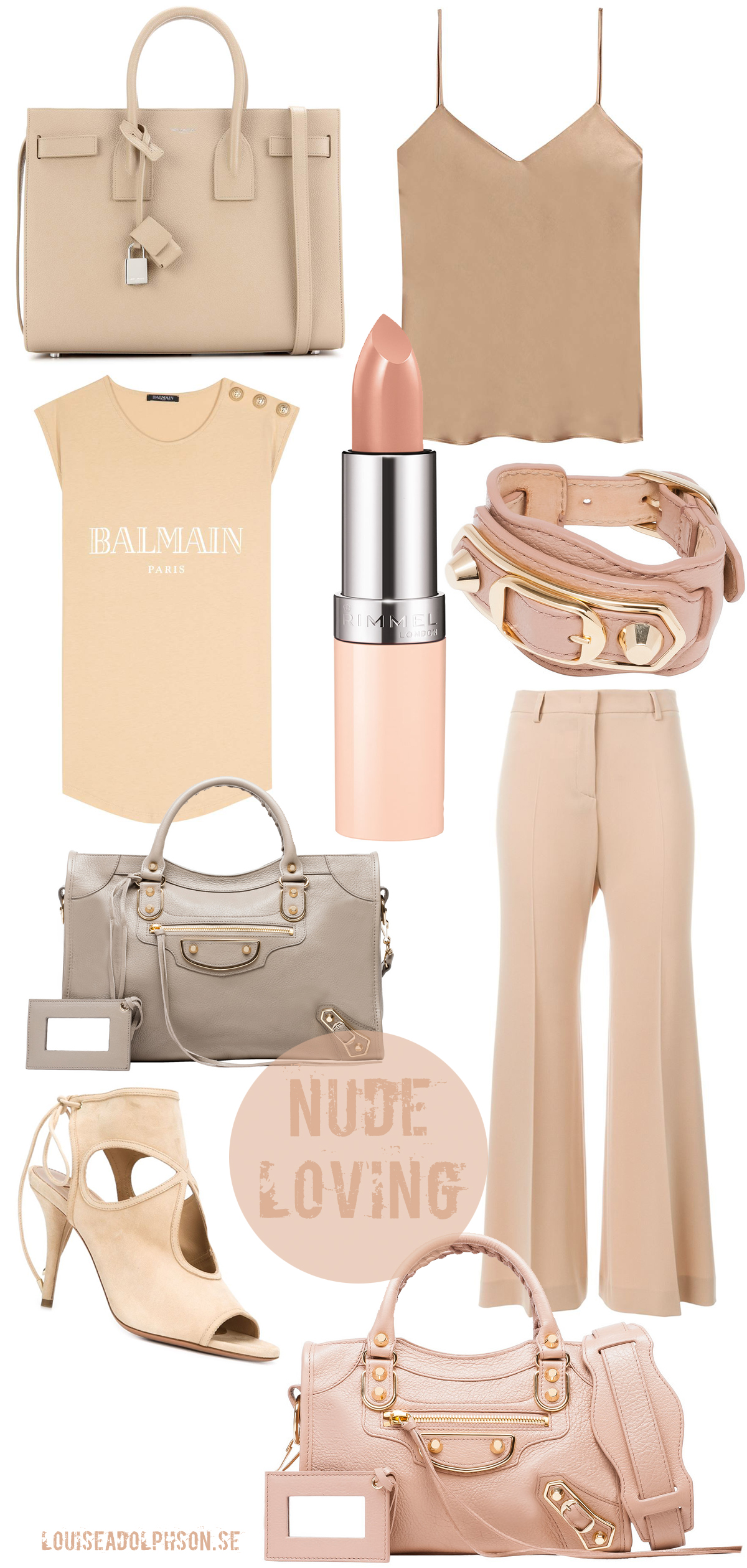 nude beige outfits for spring 2016