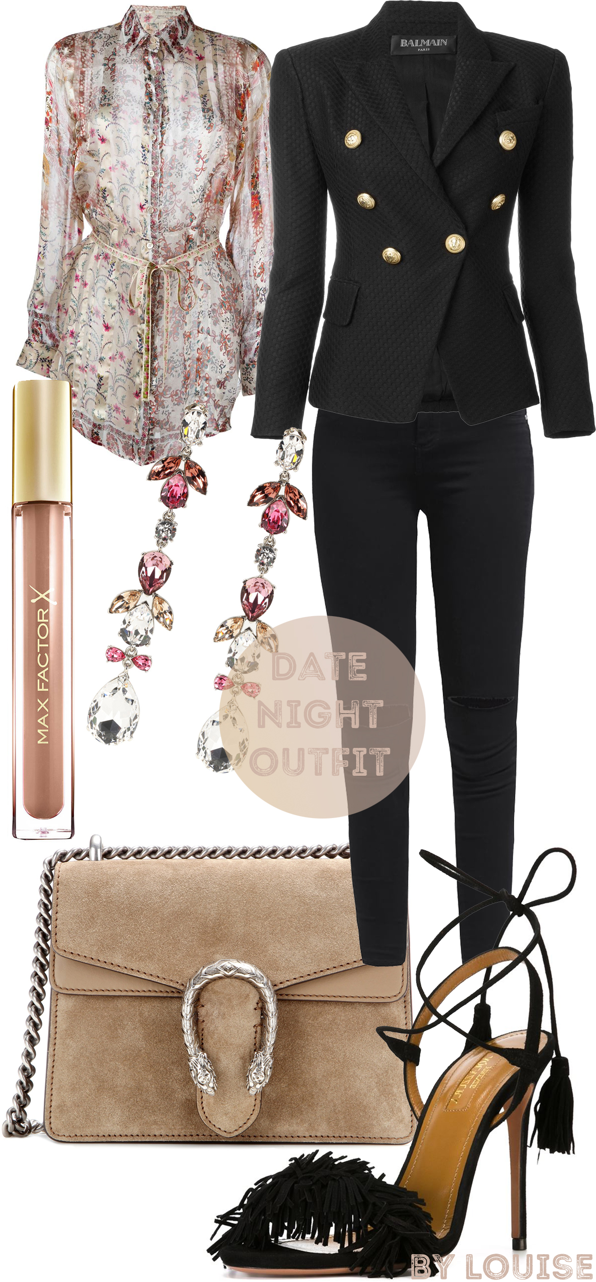 perfect date night outfit aquazzura gucci spring summer 2016
