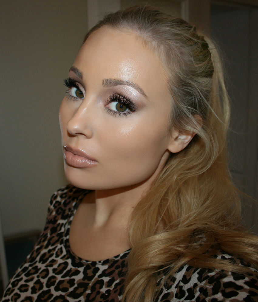 anastasia brow wiz taupe soft glam tutorial