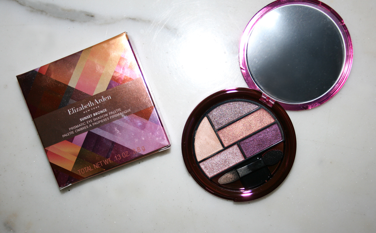 elizabeth arden sunset bronze summer collection eyeshadows