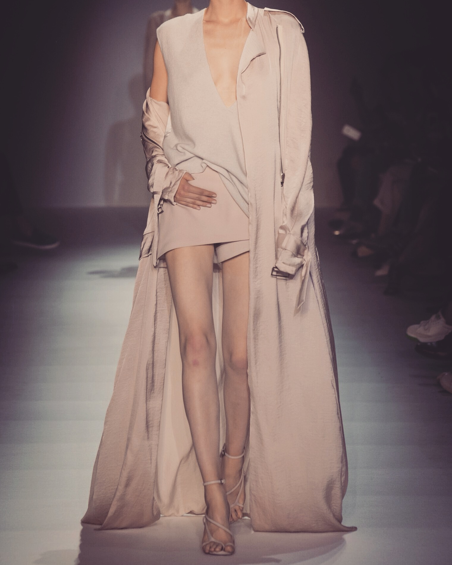 Haider Ackermann Fashion Show Ready To Wear Collection nude outfit neutrals
