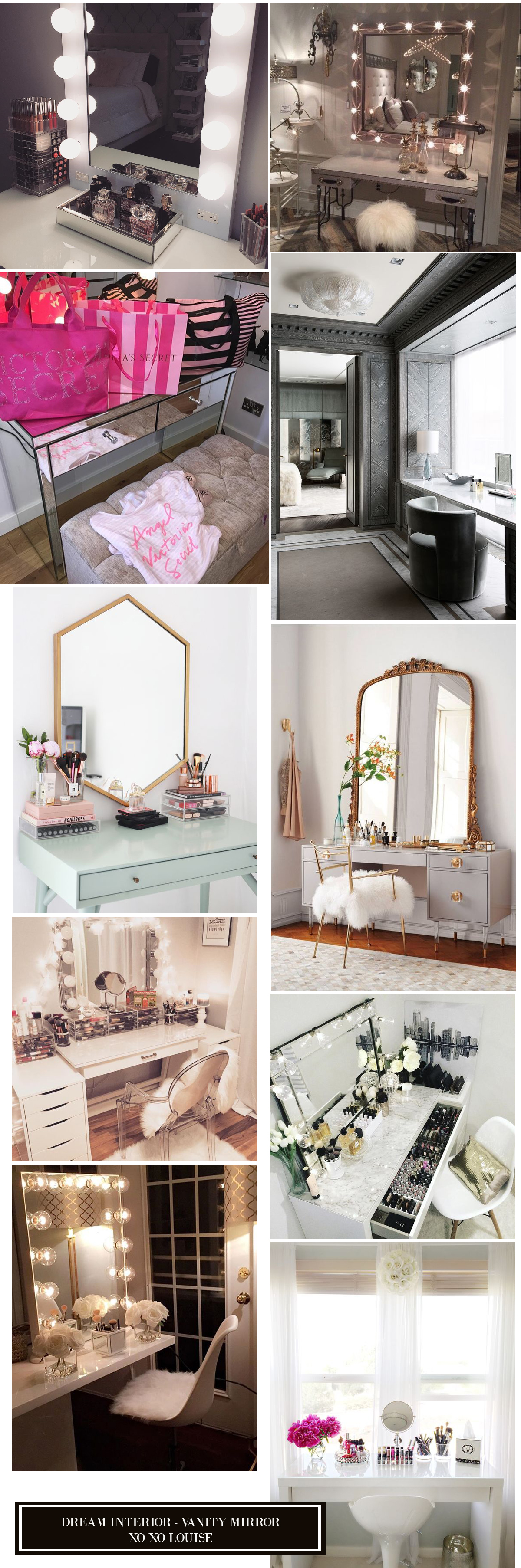 make up vanity interior design dream living
