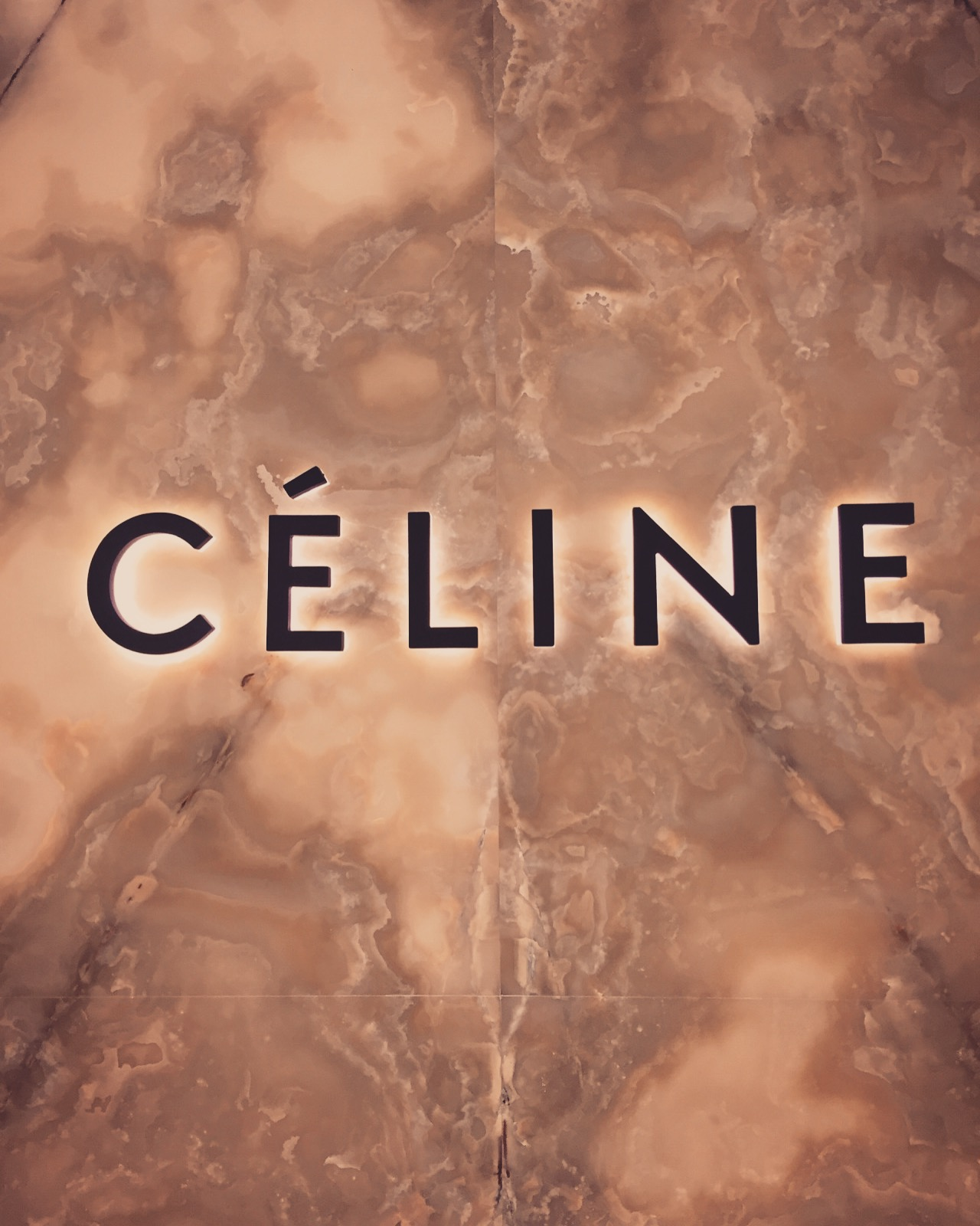 beige inspiration celine store fashionista