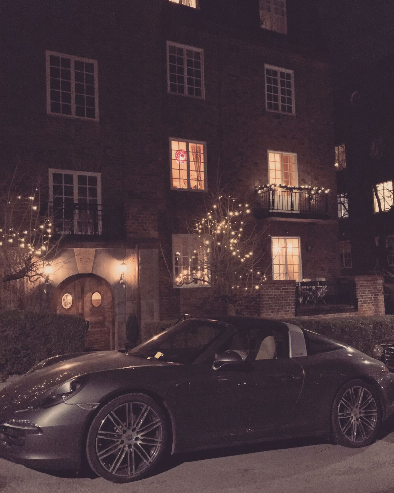 life-goals luxury living townhouse porsche sportscar
