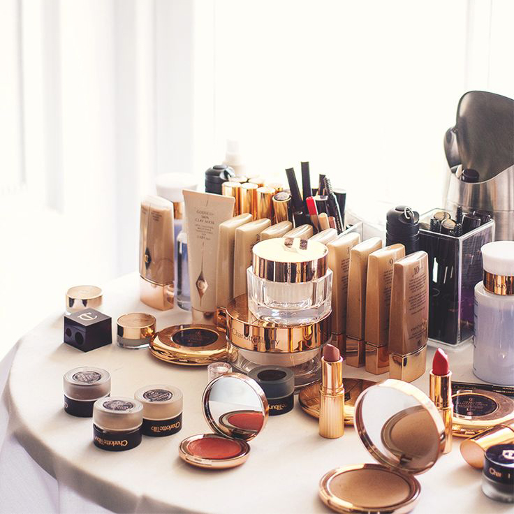 charlotte tilbury make up station