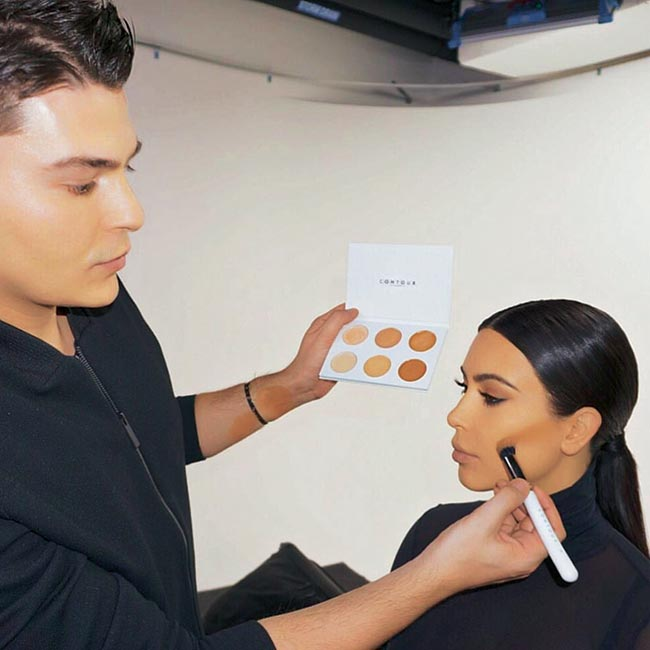 kim kardashian contour tutorial