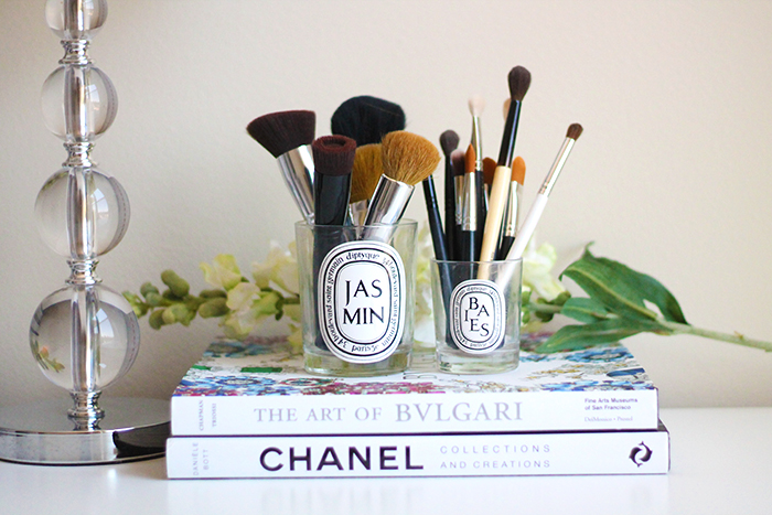 diptyque brush holder candles
