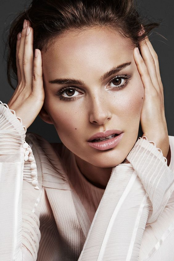 natalie portman natural make up