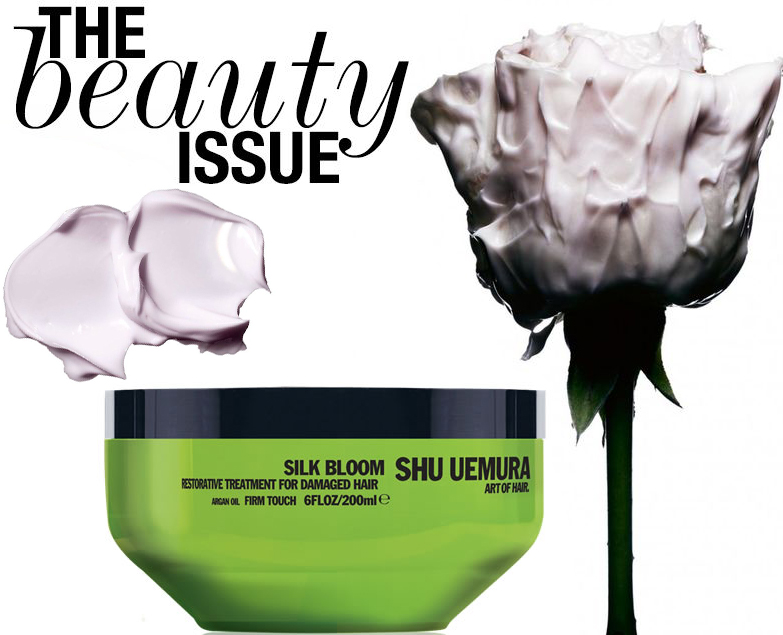 the beauty issue hair mask review shu uemura hair mask review