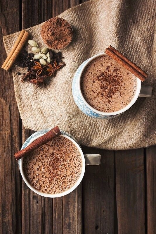 hot cocoa autumn