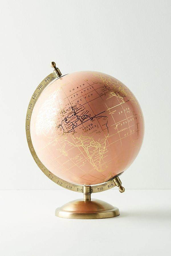 rose gold globe